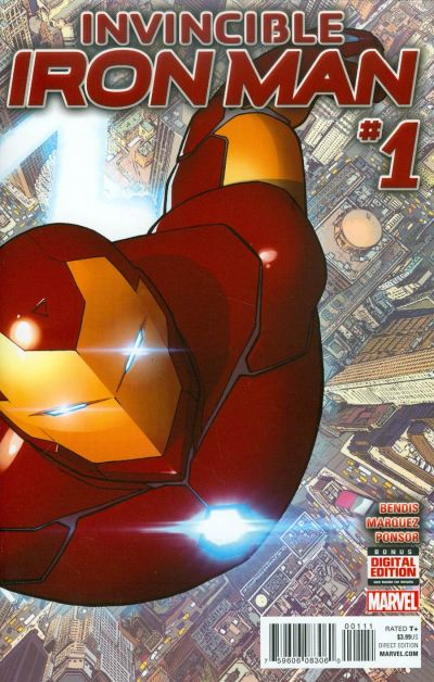 Invincible Iron Man Vol 2 #1