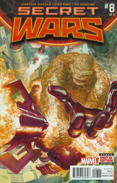 Secret Wars #8 Regular Alex Ross