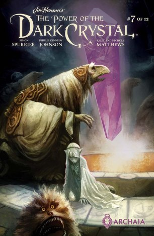 Jim Hensons Power Of The Dark Crystal #7 Regular Mike Huddleston