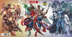 Marvel Legacy #1 Midtown Exclusive J Scott Campbell Gatefold Wraparound Variant